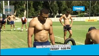 """""""Oval Planet"""" Hosted by Byron Kelleher - Rugby Month on TRACE Sports"""