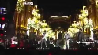 111229 Super Junior Donghae & Eunhyuk , SHINee & EXO LUHAN KAI Live @ SBS GAYO DAEJUN 2011