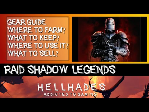 RAID SHADOW LEGENDS | MY GUIDE TO GEAR, WHAT TO KEEP, WHERE TO USE IT & WHAT TO SELL