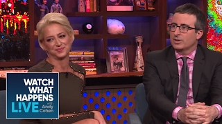 Which #RHONY 'Wife Does John Oliver Want For Office? | RHONY | WWHL