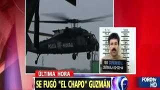 JOAQUIN  EL CHAPO  GUZMÁN SE FUGA DE LA CÁRCEL DE MÁXIMA SEGURIDAD DE MÉXICO