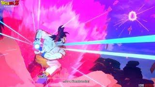 Dragon Ball Z: Kakarot! Goku's Kamehameha VS Vegeta's Galick Gun HD Cutscene