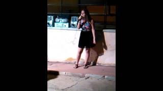 Oseana cantando por María Carrasco