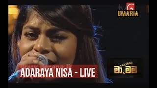 UMA-RIA - Adaraya Nisa (Rukmani Devi) | Live Cover by Umaria