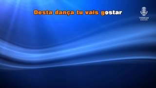 ♫ Karaoke ZUMBA COMIGO - Maria Lisboa