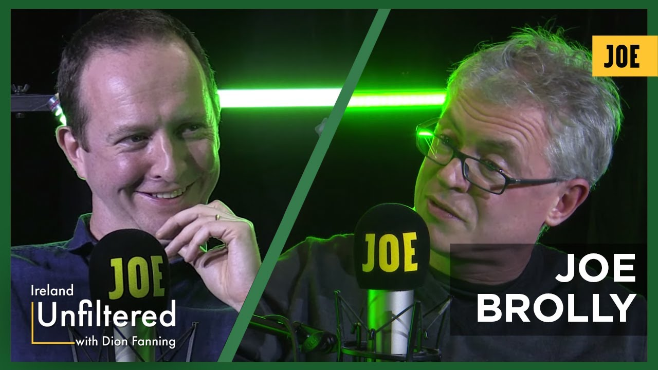 Joe Brolly – RTÉ, the Demons and Me – Ireland Unfiltered