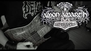 Amon Amarth - Where Is Your God Guitar Cover By Siets96 (HD)