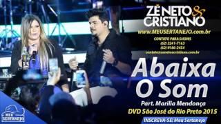 Zé Neto e Cristiano   Abaixa o Som Part Marília Mendonça DVD 2015