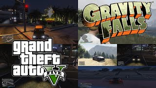 Gravity Falls Theme in Grand Theft Auto V