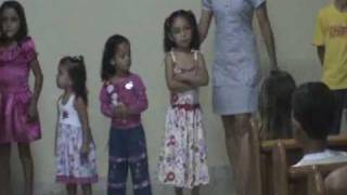 Musical Infantil em Capin Angola 1