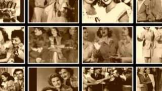 Andrews Sisters The Old Piano Roll Blues Rare DOT Recording