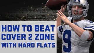 How To Beat Cover 2 with Cloud Flats | Madden 17 Tips