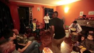 Ndiyo Sasa house concert - Samurai Cowboy