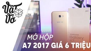Galaxy A7 2017 hàng trưng bày chỉ hơn 6 triệu, bảo hành chính hãng