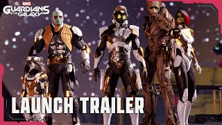 Headbang Your Way Through Marvel\'s Guardians of the Galaxy PS5, PS4 Launch Trailer