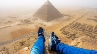 Watch This Teen Illegally Climb Egypt's Great Pyramid