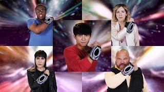 Power Rangers HyperForce - Ranger Team Morph | Tabletop RPG | Super Ninja Steel
