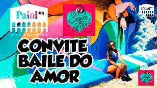 Convite Baile do Amor