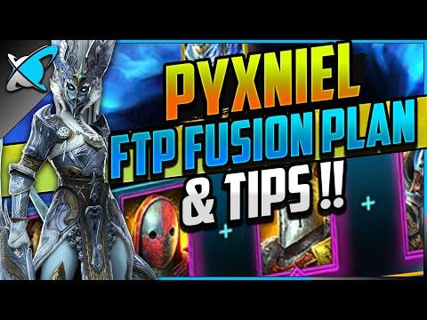 "Pyxniel ""FREE TO PLAY"" Fusion Plan!! | Full Calendar & Champions Breakdown | RAID: Shadow Legends"