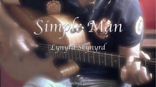 Simple Man cover - Lynyrd Skynyrd (Free Tab - Guitar Fingerstyle)