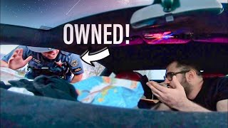 COP MESSES WITH THE WRONG LAMBORGHINI OWNER!!