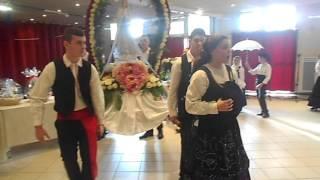 Entrada da Nossa Senhora de Fatima - Andorinhas de Portugal de Villejuif