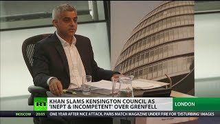"Sadiq Khan brands Kensington & Chelsea ""missing in action"""