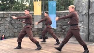 Durmstrang Dancers at Harry Potter Land opening 2016 Hollywood Universal Studios