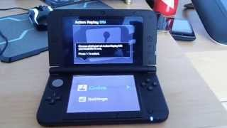 How to get the action replay to work on 3ds XL
