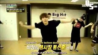 BTS- The We can't dance line (JIN & RAPMONSTER)