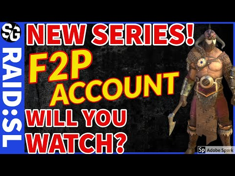 RAID SHADOW LEGENDS | STEW'S NEW F2P ACCOUNT! F2P SERIES