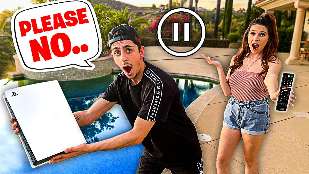 Rug - PAUSE CHALLENGE With My Girlfriend For 24 HOURS!! **Bad Idea**