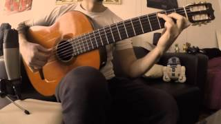 Is anybody out there -  Pink Floyd (Classical Guitar Cover) HD