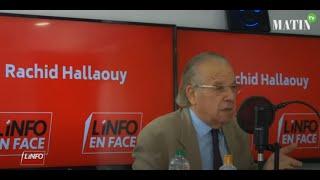 L'Info en Face avec Mostapha Sehimi