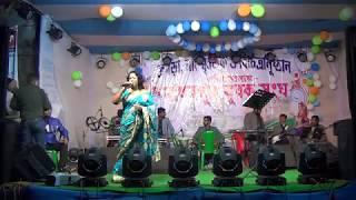 Mere Khwabon Mein Jo Aaye || Awesome Playing By MOU DAS || On Our Yubak Sangha's 2K18 Programs ||