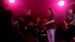 Dilusion feat. Peter Varga - Live hard rock jam - guitar battle - (Silvester 2008)