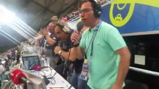 relato dos  comentadores Nuno Matos/Alexandre Afonso(Antena1) COM A VITORIA DE Portugal vs POLONIA