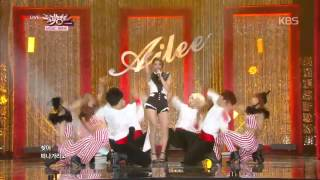 KBS MUSIC BANK_에일리(Ailee) - 손대지마(Don't Touch me).[1/2]