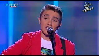 "Nuno Ribeiro - ""Balada do Desajeitado"" D.A.M.A. - Gala 3 - The Voice Portugal"