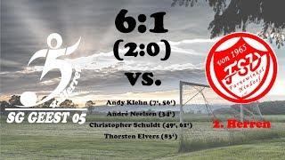 Highlights SG Geest 05 IV vs. SV Farnewinkel/Nindorf II - 6:1 (2:0) - 17.09.2017