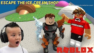 ESCAPE The Ice Cream Shop Obby Fun Roblox Game CKN Gaming