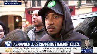 """""""Qu'on continue à honorer les mots"""", encourage Soprano pour rendre hommage à Charles Aznavour"""