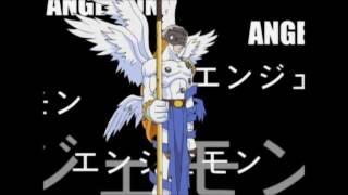 Tema de Evolucion - CORAZON CON VALOR - Mago Rey - Brave Heart - ESPAÑOL LATINO- Digimon 01