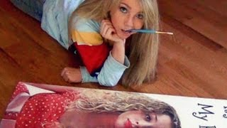 Painting Carrie Hope Fletcher