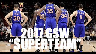"""Golden State Warriors 2017 """"See what I've Become"""" Emotional"""