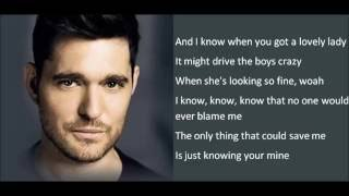Michael Bublé - Nobody But Me (lyrics)