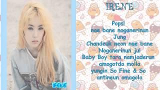 Red Velvet - Ice Cream Cake Lyrics