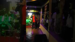 LEROY GIBBONS LIVE AT MONGOOSE RESTAURANT AND LOUNGE 52 MAIN STREET OCHO RIOS JA