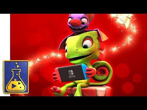 WTFF::: Yooka-Laylee Buddy Slams Nintendo Switch On December 14th