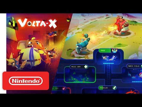 WTFF::: Exclusive: Meet The Crew Of Volta-X, The RTS Mech-Battler Hitting Switch Next Week